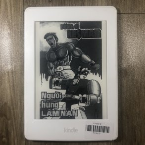 KINDLE PAPERWHITE GEN 3 CODE PVN309