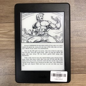 KINDLE PAPERWHITE GEN 3 CODE PVN272