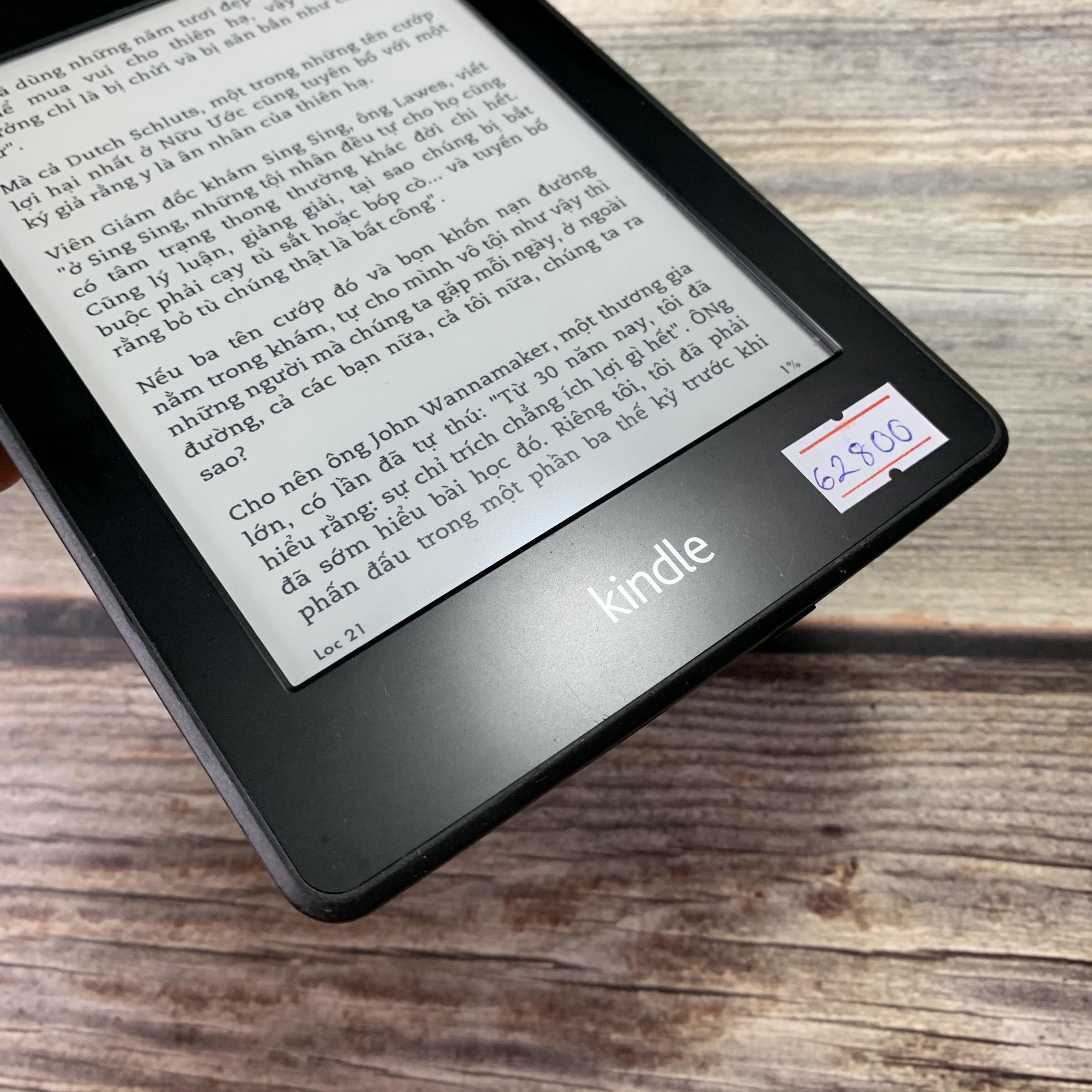 Máy Nhật Cũ] Máy Đọc Sách Kindle Paperwhite Gen 1 5th Code 62800