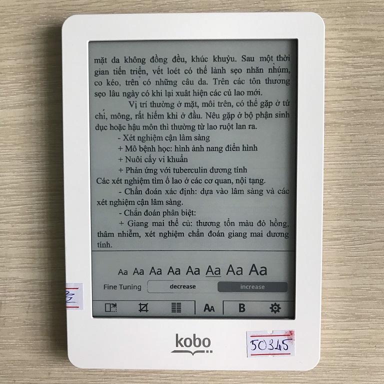 Đọc PDF với máy đọc sách Kobo